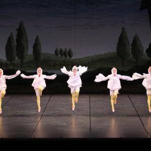 「ピーター・ラビットと仲間たち」より「めんどりたちの踊り」